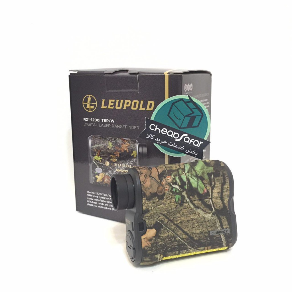 New Camo Leupold RX-1200i TBR with DNA Laser Rangefinder 170639