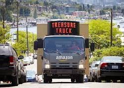 کامیون گنج آمازون