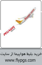 بلیط هواپیما خارجی flypgs