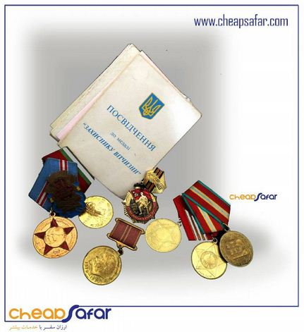 Medals with documents anniversary army Lenin soviet jubilee USSR medal
