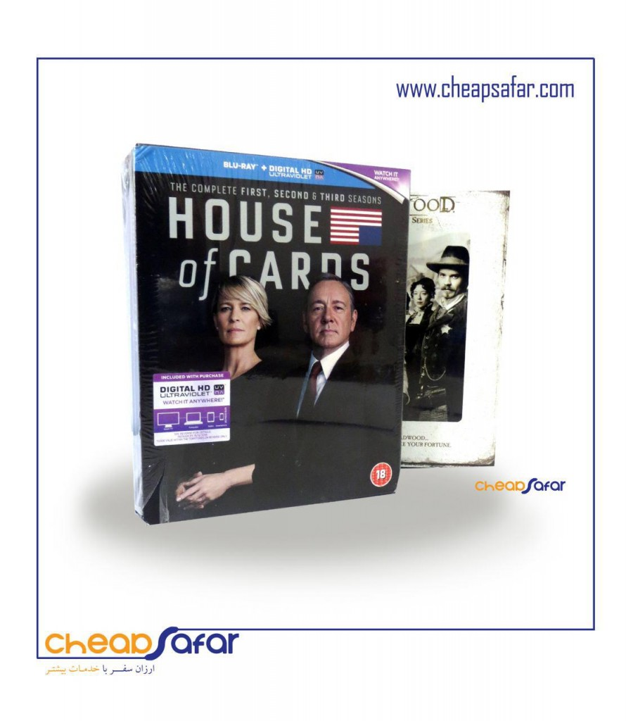 بلوری های سری True blood و House of cards