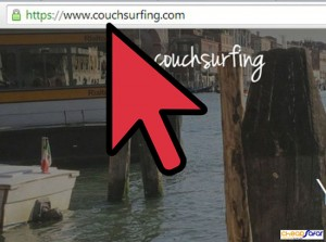 میزبانی در Couchsurfing