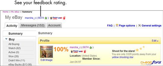 بازخورد فروشندگان eBay